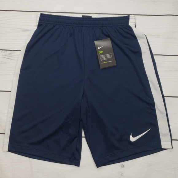 Nike Mens Navy Soccer Shorts 832508-451 Size Small